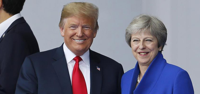 Trump'tan May'e Brexit Eleştirisi